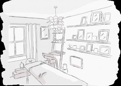 Massage Room York (illustration)